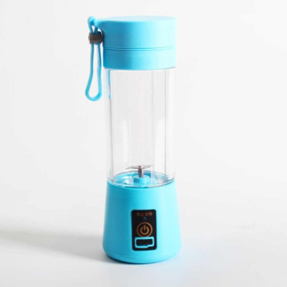 Tamanho portátil USB Elétrica Espremedor de Frutas Liquidificador Liquidificador Portátil Recarregável Mini Portátil Xícara De Suco de Água
