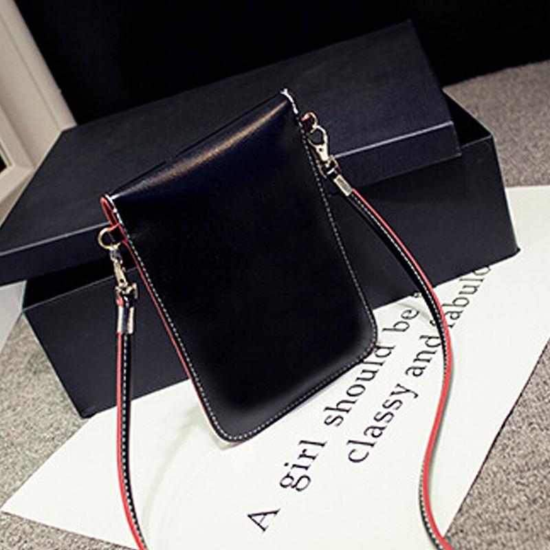 New Fashion Women's Mini Multi-color side edge of color phone package lovely purse retro shoulder diagonal handbags messenger 4