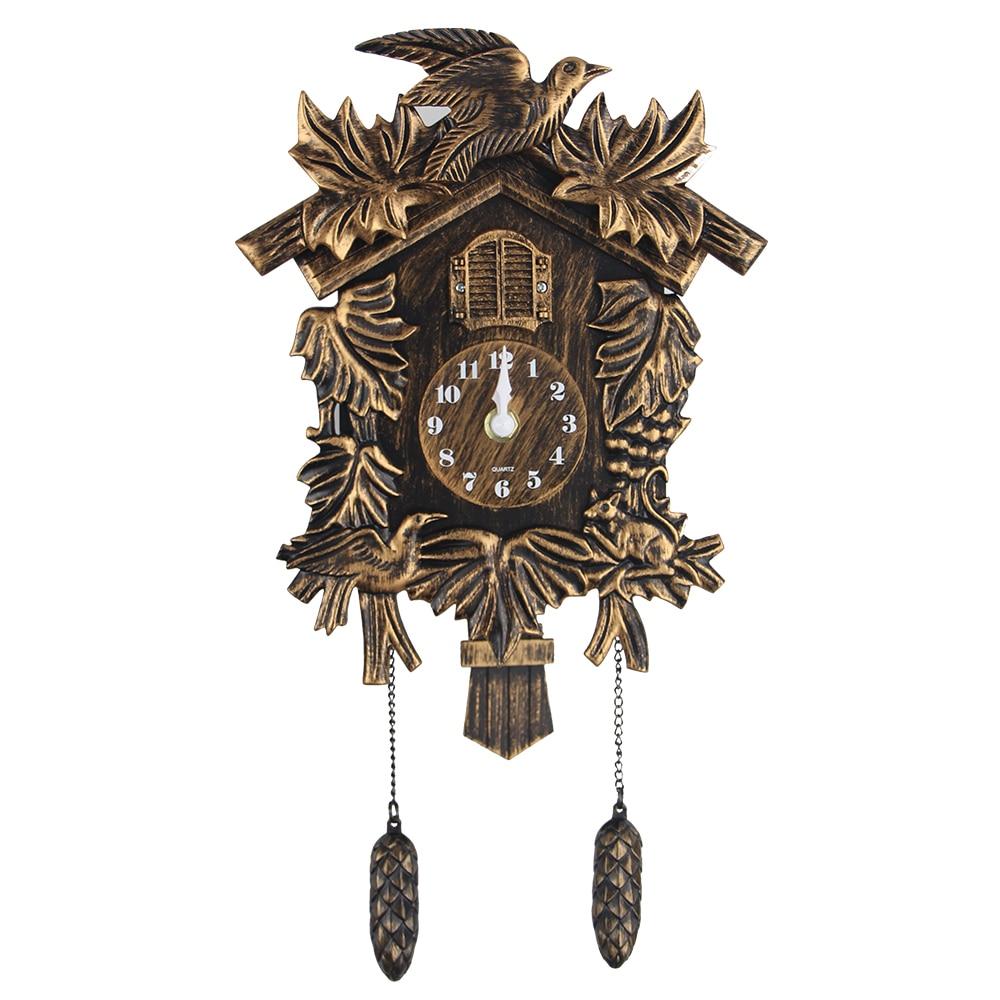 Cuckoo Clock Modern Plastic Wall Clock Bird Alarm Clock