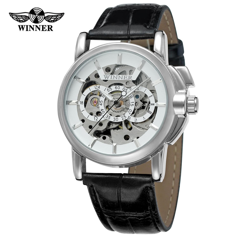 preto relógio automático masculino