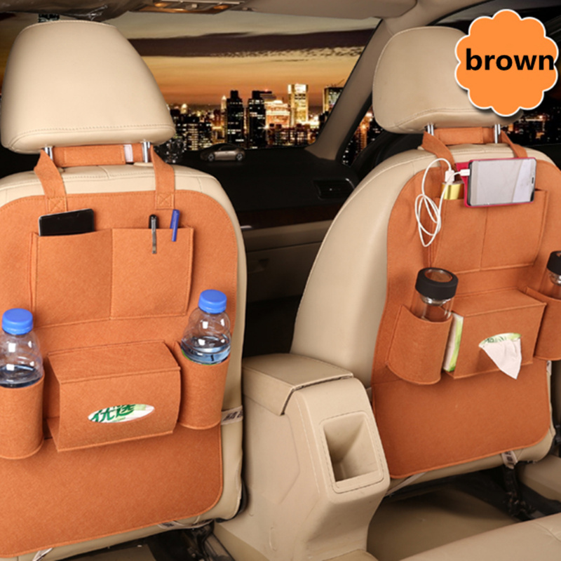 1PC Car Storage Bag Back Seat for Skoda Octavia A2 A5 A7 Fabia Rapid Superb Yeti Roomster