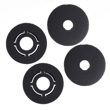 New Useful 4 Pcs Car Carpet Mat Clips Floor Holders Fixing Grips Clamps For VW /Skoda /Audi image