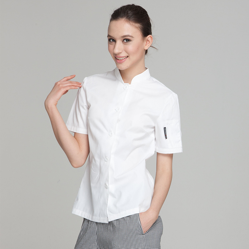 Fashion Restaurant Hotel Kitchen Women Female Chef Jackets Coats ...