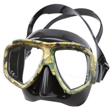 Triclicks Professional Disguise Camouflage Scuba Dive Mask Myopic Optical Lens Snorkeling Gear Spearfishing Myopia Goggles