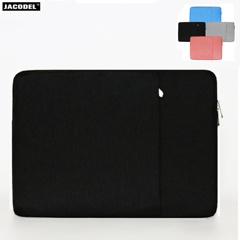 Jacodel Laptop Sleeve 13 14 15 inch Notebook Laptop Sleeve bag for Macbook Xiaomi Air Pro Case Bag for Dell HP Asus Acer Lenovo