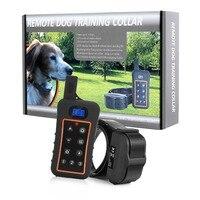 Pet trainer Çevre Dostu Özelliği ve Pet Yaka ve tasmalar Tipi uzaktan kumanda köpek eğitim yaka Titreşim/şok/bip