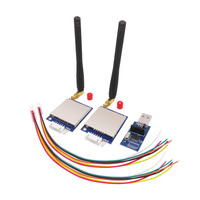 2pcs Lot 500mW TTL RS232 RS485 Port Wireless Transceiver Module Kit SV651 With Antennas And Usb