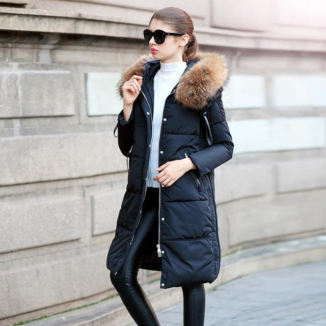 Aliexpress.com : Buy Winter Jacket Coat Women 2017 Real Raccoon ...
