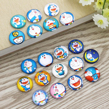 Cartoon Anime Round Photo Glass Cabochon Mixed Pattern Fit Base Setting For Jewelry Wholesale 10mm 12mm 16mm 18mm 20mm 25mm 9948