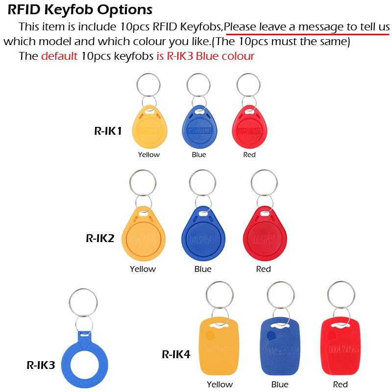 RAYKUBE 유리 도어 액세스 제어 키트 전기 볼트 잠금 + - 보안 및 보호 - 사진 5