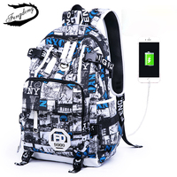 Fengdong High School Students Shoulder Bag Male College Waterproof Fashion Trends Large Capacity Backpack Mochilas Hombre