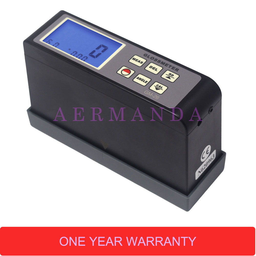 US $173 0 |Gloss Meter 20 60 Degrees Angle GM 26 0 1 200Gu Paint Printing  ink digital Glossmeter-in Glossmeters from Tools on Aliexpress com |  Alibaba