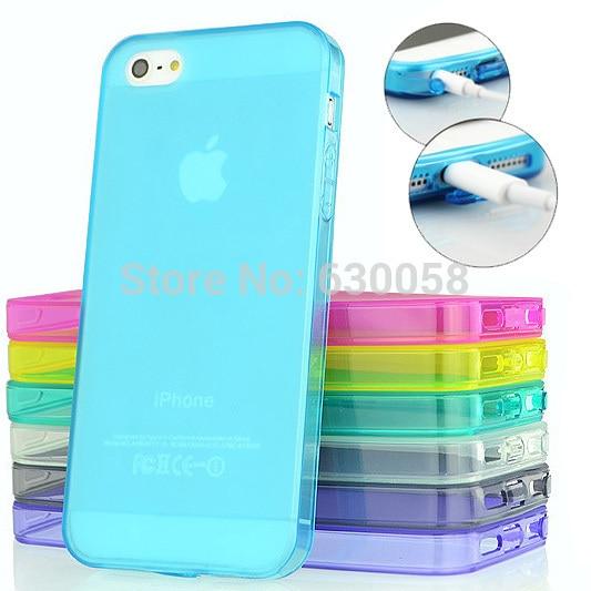Ультра тонкий матовый предотвратить Ладошек прозрачный мягкий силиконовый чехол кожи чехол для iPhone SE 5S 5 7 7 плюс 6S 6 plus
