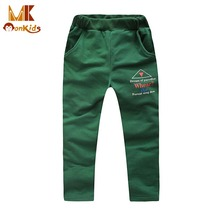 Monkids 2017 Autumn Fashion Style Children Clothing Boys Pants Trousers Casual Pants For Boys Kids Sports Trousers Hot Sale