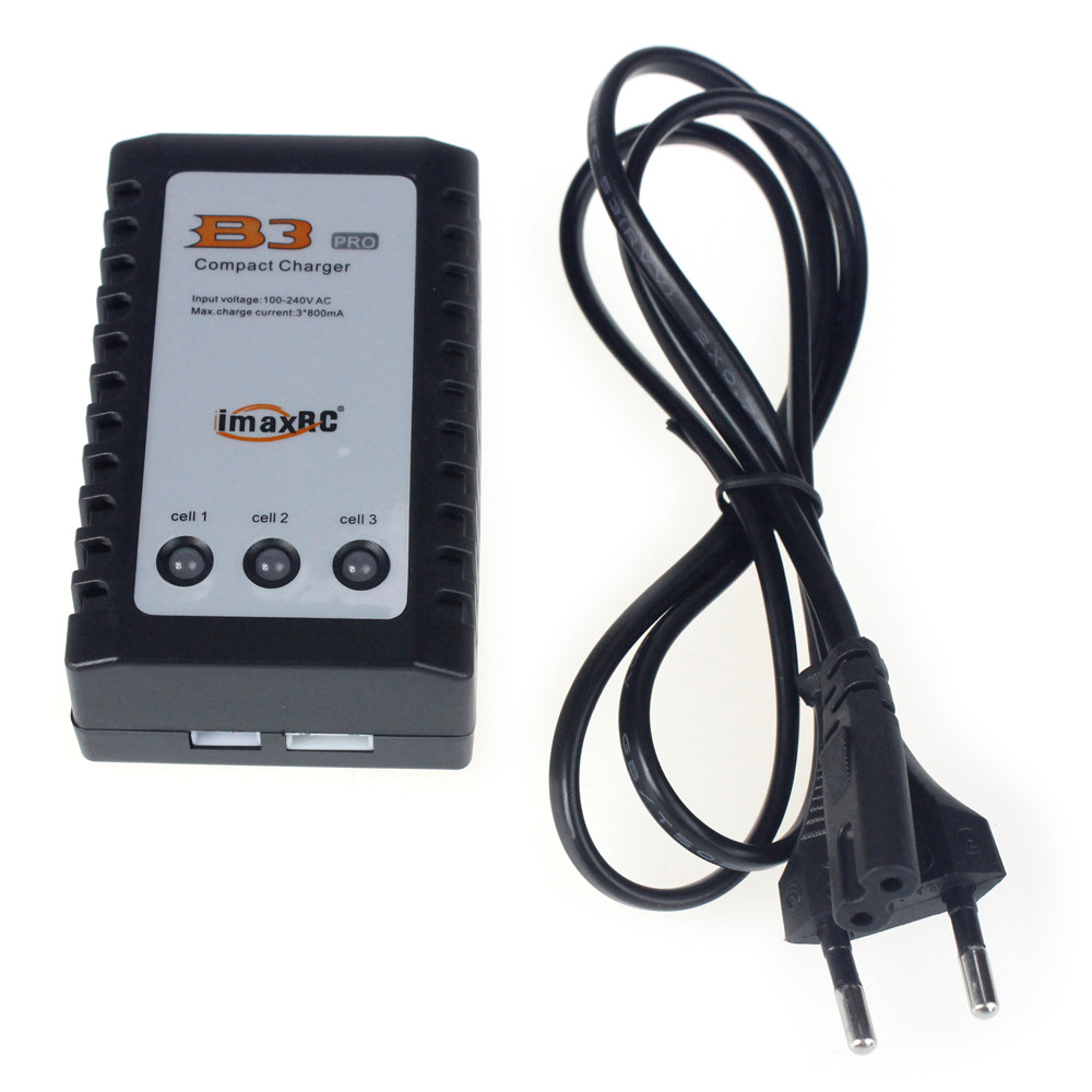 IMAX RC B3 Pro Compact Balance Charger for 2S 3S 7.4V 11.1V Lithium LiPo Battery (EU US UK AU Plug) купить недорого в Москве