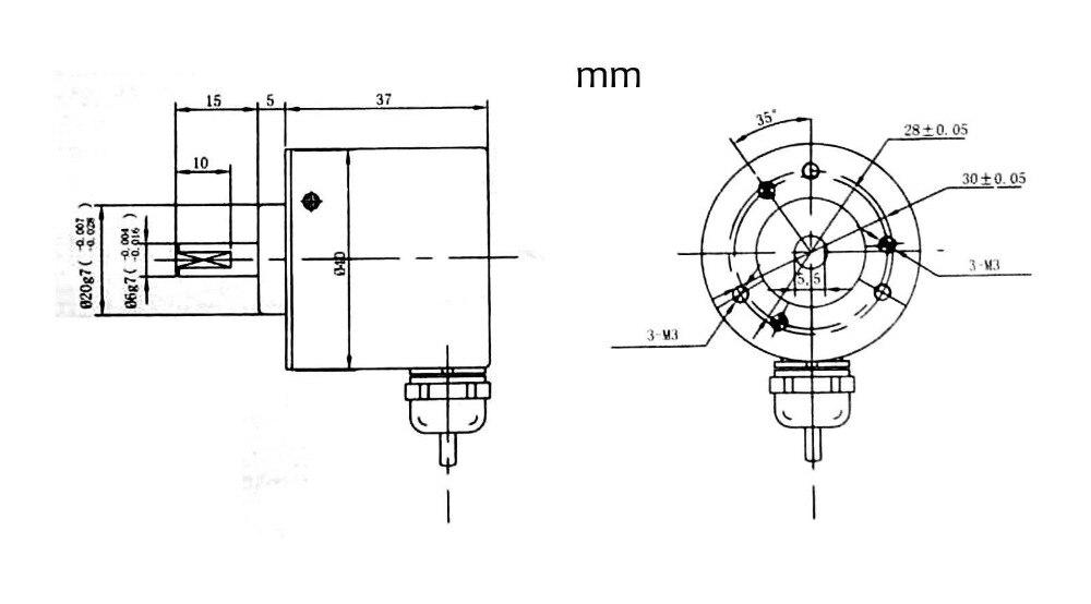 Rotary Encoders NEW 1PC OMRON 100P Incremental Rotary Encoder 100p ...