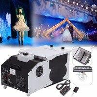 Ship From Germany 1500W Low Lying Floor Emitter Smoke Fog Machine Wedding Dance DJ Stage Party