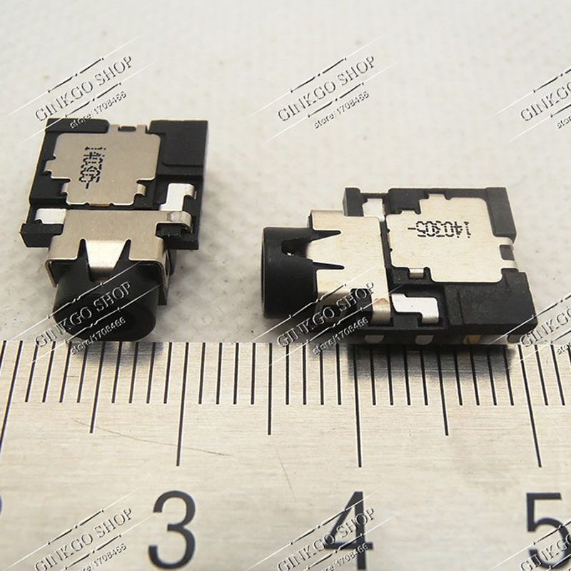 2PCS Original New Laptop Headphone Jack Notebook Audio Interface Sockect for HP DELL SONY Toshiba