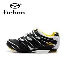 Tiebao/Мужская и женская обувь для шоссейного велоспорта с автоматическим замком; спортивная обувь для велосипеда; дышащая обувь для велосипеда; спортивные кроссовки; zapatillas de ciclismo