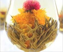 Потрясающей популярны цветущий шаров различные красоты зеленый цветок чай ручной