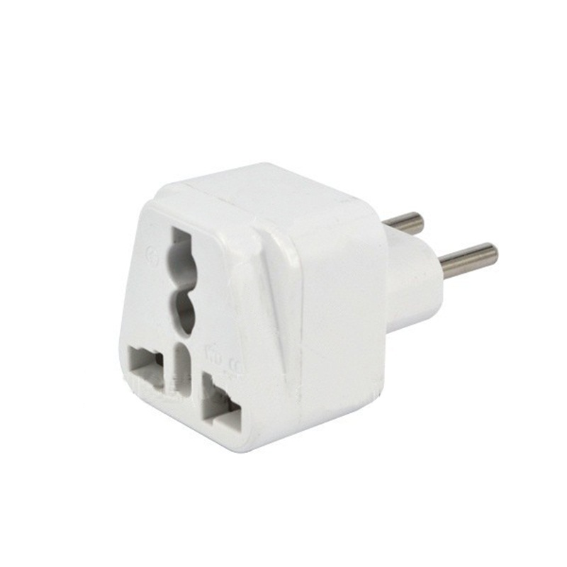 High Quality Universal Wall Charger AU US UK to EU Brazil Italy Jack 2 Pin Electrical Conversion Plug Travel Adapter Converter