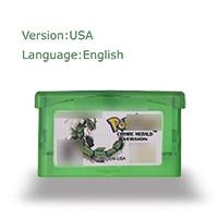 Pokemoon cosmic merald 32 Bit Video Game Cartridge Console Card US Version English