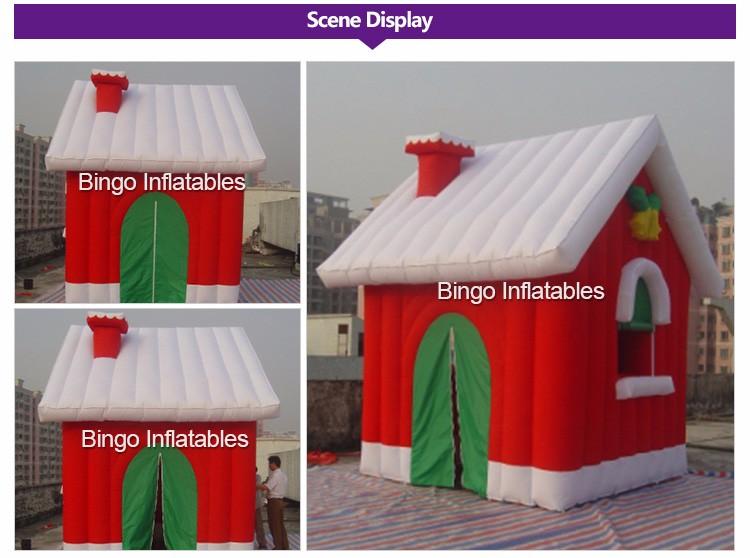 Christmas Inflatable House (2)