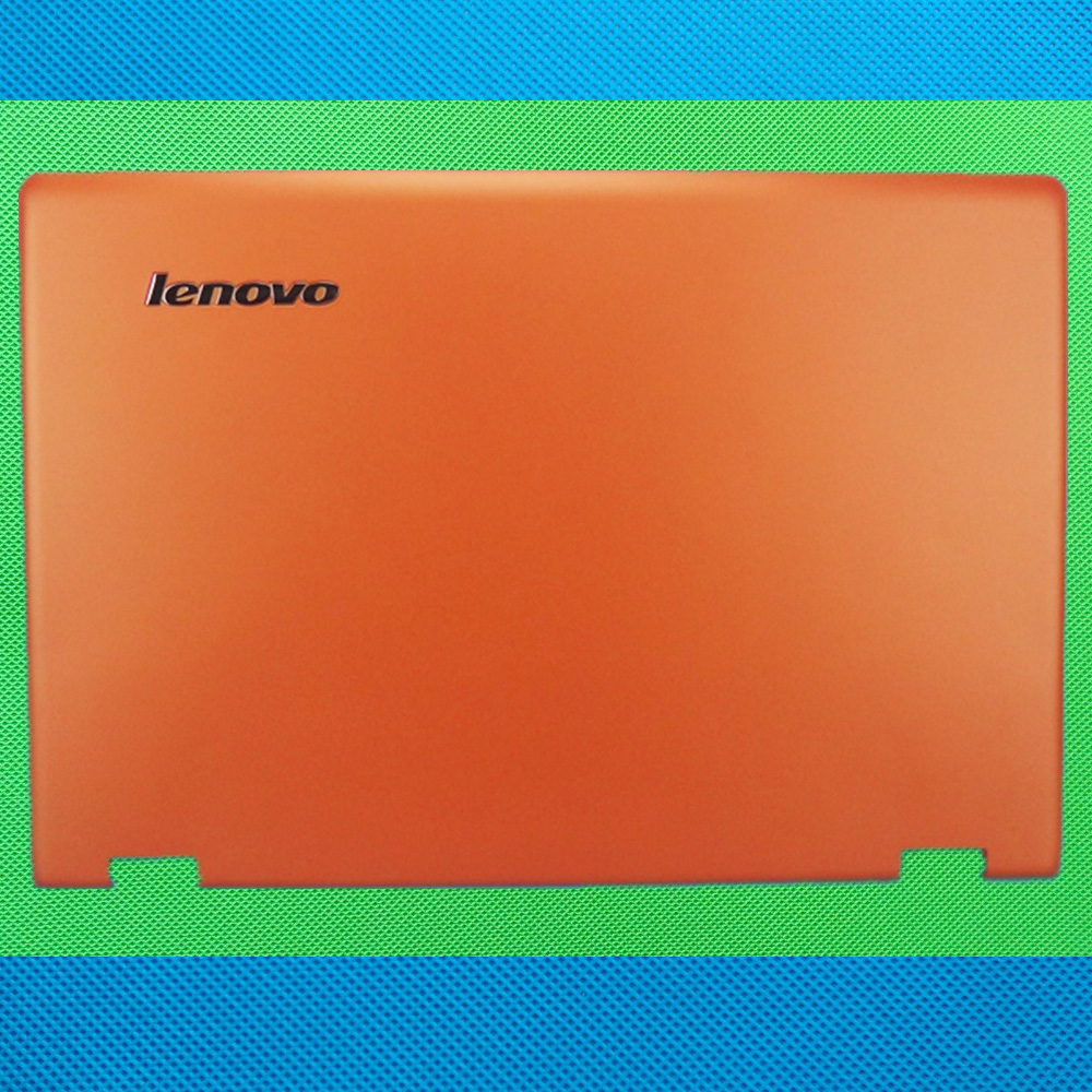 New Original r Lenovo Ideapad Yoga 3 14 LCD Rear Lid Back Cover Screen Top Lid   AP0YC000130 orangeNew Original r Lenovo Ideapad Yoga 3 14 LCD Rear Lid Back Cover Screen Top Lid   AP0YC000130 orange