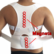10 Magnets Magnetic Posture Corrector for Women Corrective Underwear Back Therapy Brace Shoulder Back Support Belt Pad Plus Size