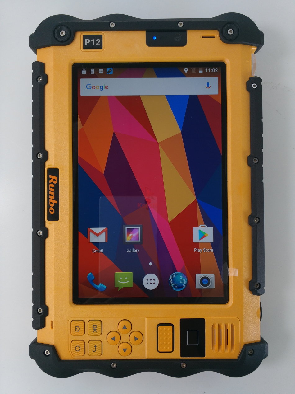 """Image 2 - China Rugged Industrial Waterproof Tablet Phone PC UHF VHF PTT Radio 7"""" 1920x1200 Dual Sim Android 5.1 Dustproof GNSS GPS Trucks-in Cellphones from Cellphones & Telecommunications"""