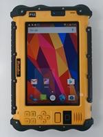"vhf uhf PC טלפון Tablet Waterproof סין מוקשח תעשייתי UHF VHF PTT רדיו 7"" 1920x1200 Dual סים אנדרואיד 6.0 מכסים נגד אבק GNSS משאיות GPS (2)"
