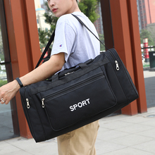 Новинка, Мужская Холщовая Сумка для путешествий, модная спортивная сумка для выходных, для спортзала, большая сумка с несколькими карманами, сумка для ручной клади для путешествий