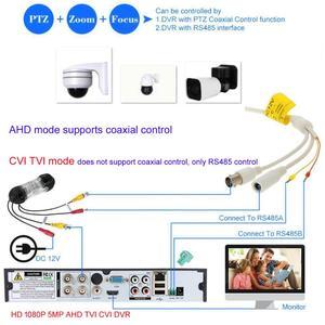 Image 5 - 4.5 30X ZOOM AHD TVI 1080P Sony 323 2.0 MP 5MP CVI PTZ Speed Dome IR Camera Night Outdoor CMOS AUTO