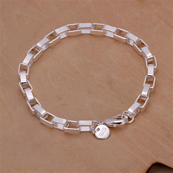 Big long square chain two pieces of geometric silver jewelry foreign trade womens suit