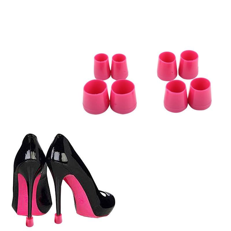 1 Pairs (xs, S, M, L) Hohe Stiletto Absätzen Hoch Ferse Protektoren Heel Stopfen Schuhe Abdeckungen Kappen Für Rasen Hochzeit Party SchnäPpchenverkauf Zum Jahresende