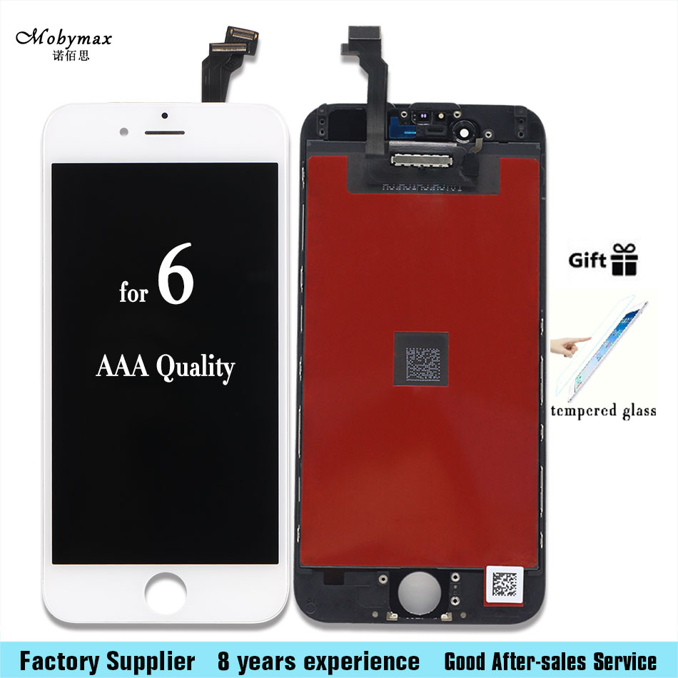 Alibaba China Grade AAA Pantalla For Apple iPhone 6 A1586 A1549 A1589 LCD Display With Touch Screen Digitizer Assembly
