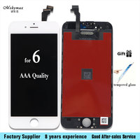 Alibaba China Grade AAA Pantalla For Apple IPhone 6 A1586 A1549 A1589 LCD Display With Touch