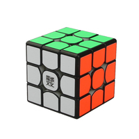 MoYu Weilong Professional Puzzle Speed Game Smooth Magic Cubes 3x3x3 PVC Sticker Learning Neo Cubo Rubik