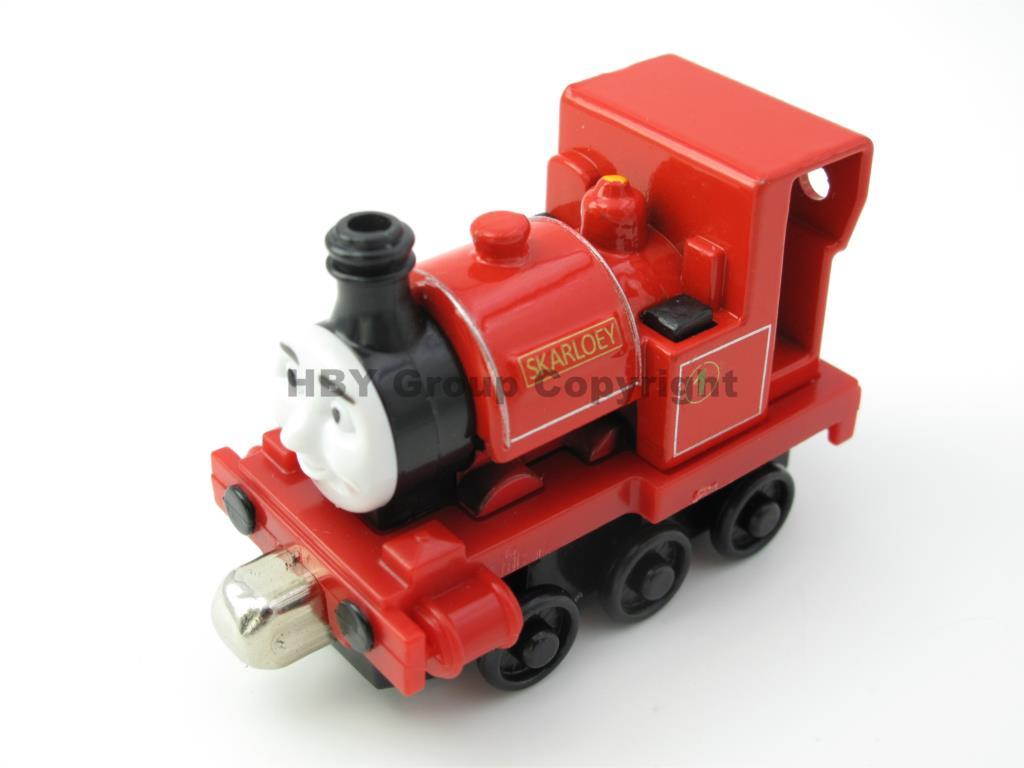 Diecast toy Vehicles Train SKARLOEY Fit For BRIO Toy Car T122D Truck Locomotive Engine Railway Toys for Children