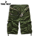 TANGNEST 2017 Hot Sale Summer Casual Men Shorts Camouflage Fashion Knee Length Shorts Men Plus 8 Colors Asian Size 38 MKD357