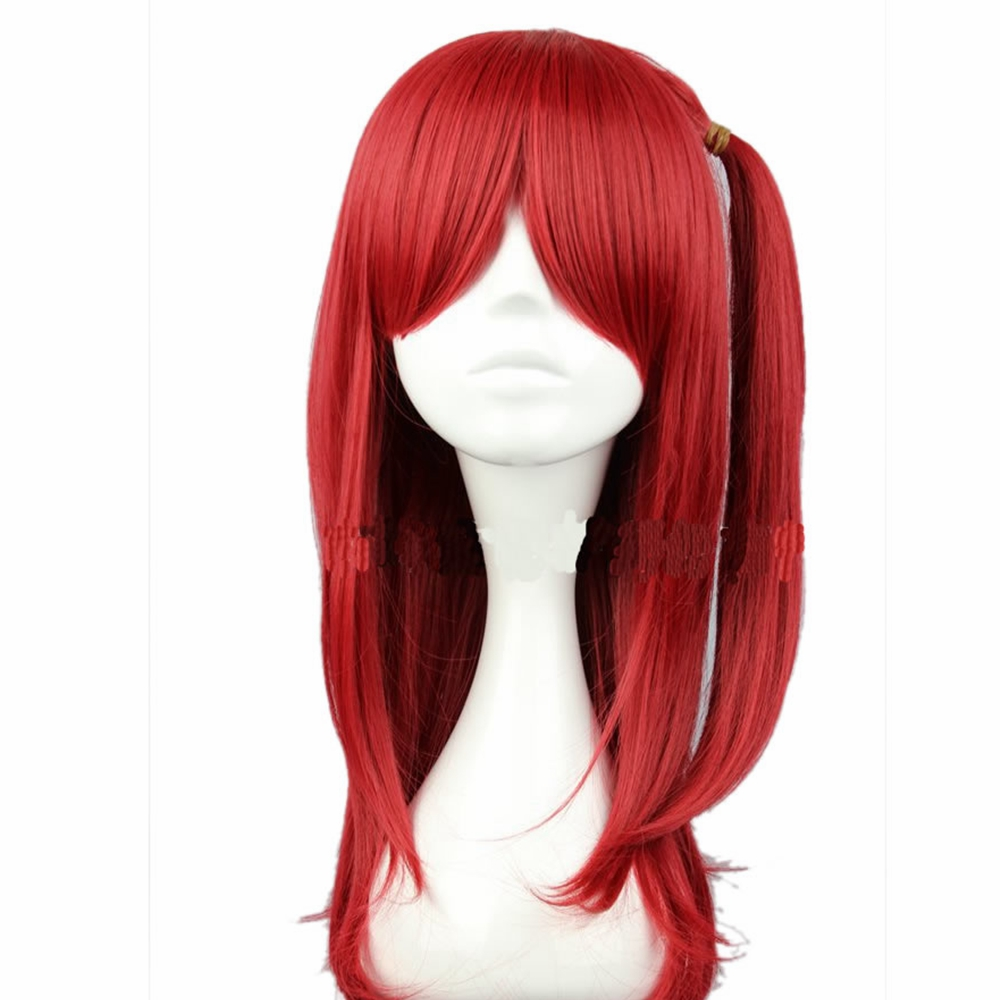 X-COSTUME Anime: Magi The Labyrinth of Magic Morgiana Cosplay Wig Hign-Temperature Fibre Headwear Cosplay Costume Prop For Women