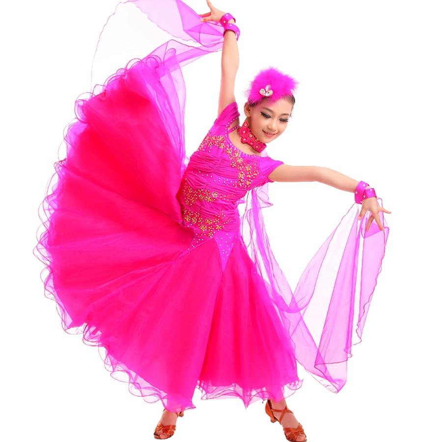 Aliexpress.com : Buy Ballroom Dance Dresses For Girls Dress ...