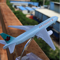 Terebo Air Canada B777 de aleación de avión de pasajeros modelo 16 CM/6.3in