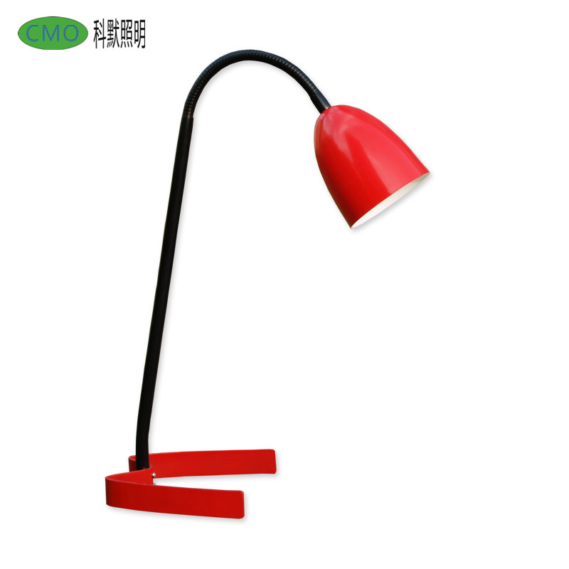 LED Desk Lamp 3.5W Eye-Care Metal Table Lamp for Reading,Study and Office W type base Flexible Gooseneck Led Reading Lamp
