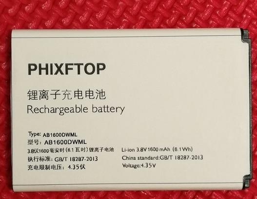 Phixftop original ab1600dwml batería para Philips s309 celular ab1600dwmt batería para XENIUM cts309 Teléfono Móvil Inteligente
