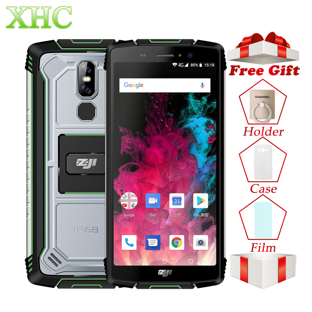 HOMTOM ZOJI Z11 Cellphone 4GB+64GB IP68 Waterproof...