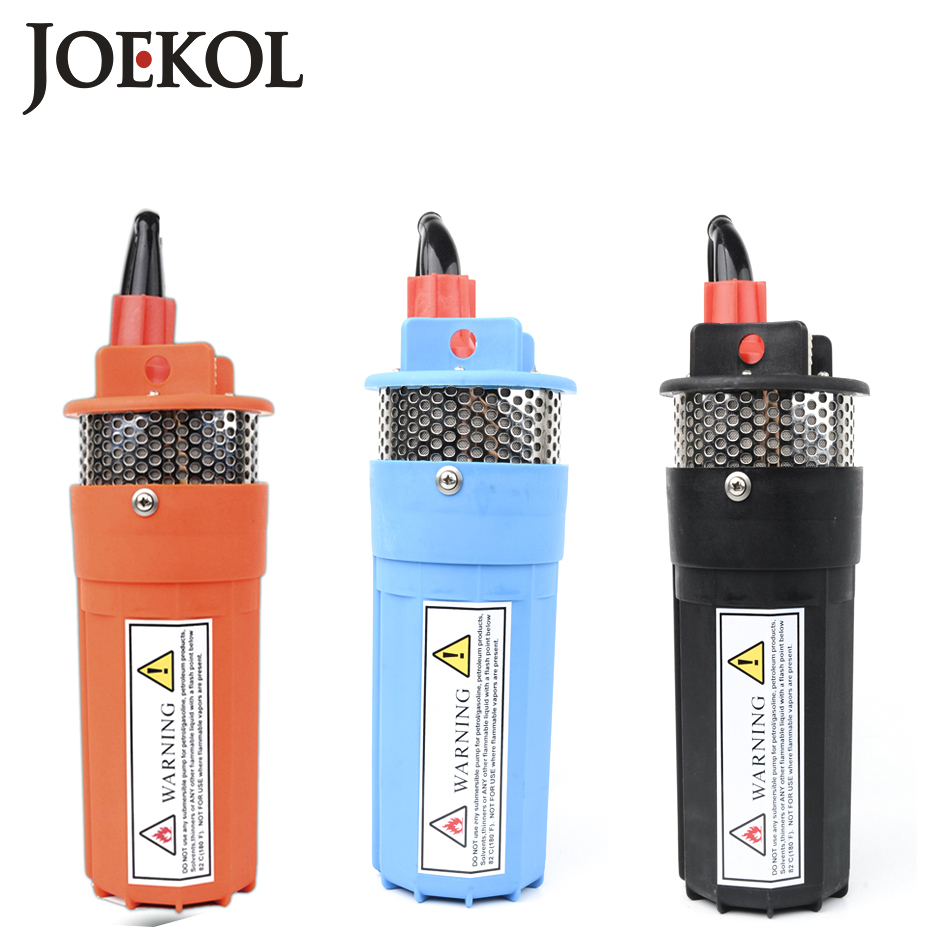 DC 12V 24V Small Submersible Power Solar Water Pump For Outdoor Garden Deep Well Submersible well