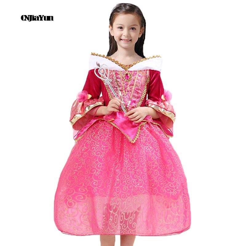 Halloween Girls Princess Fancy Dress Up Costume Outfits: Fancy Halloween Costumes Carnival Princess Party Dress For