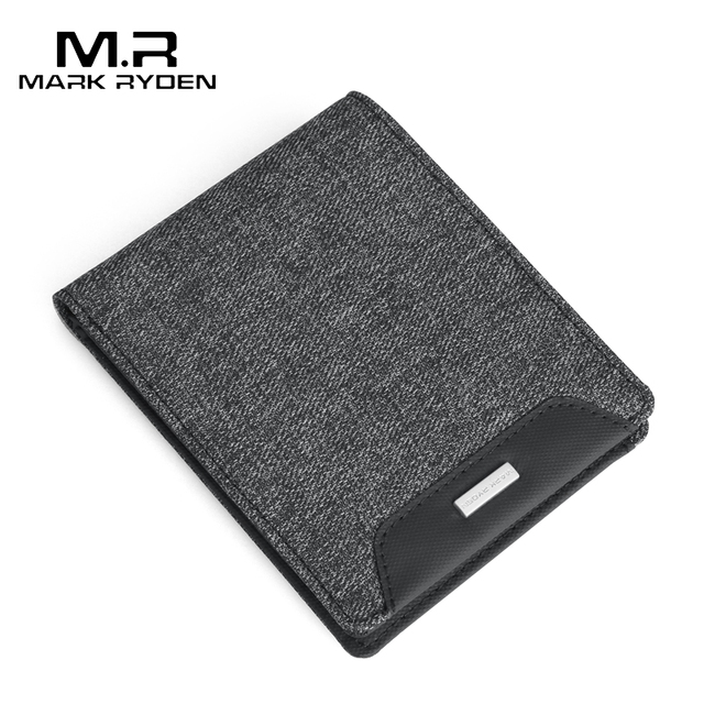 Mark Ryden 2019 New Short Wallets men Oxford Wallets Card Holders Casual Style Multi Pockets