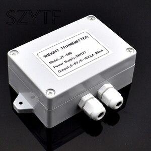 Image 1 - Transmisor de peso amplificador de pesaje, sensor de pesaje, convertidor de voltaje y corriente 0 5V0 10V4 20MA